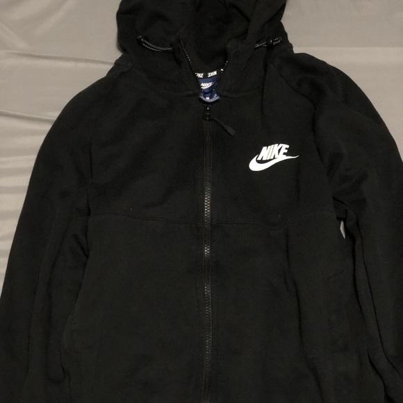 6cd6cf05fb53 Men s Black Nike Zip up Hoodie. M 5bb9864c819e90212e0a0a68